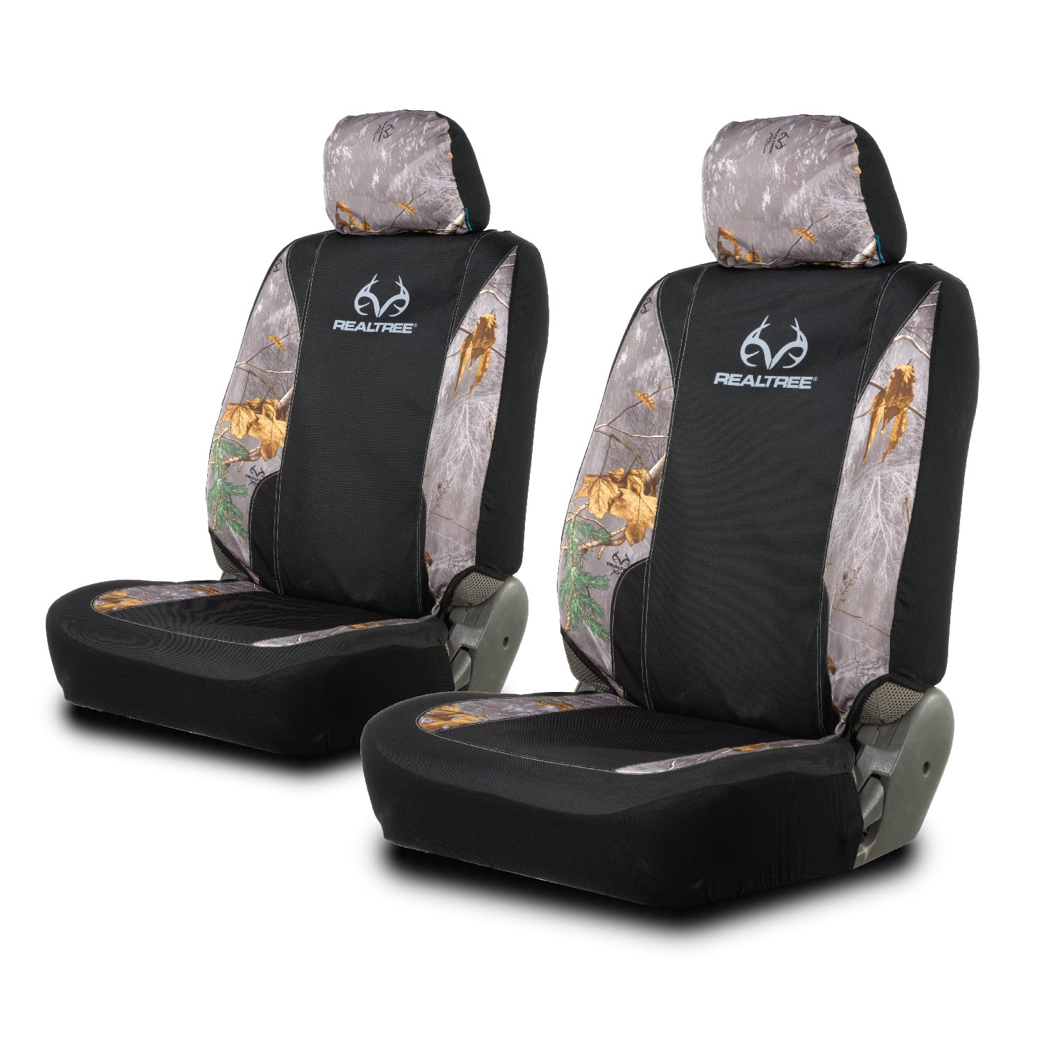 Magnificent Realtree Low Back Camo Seat Covers For Car And Truck Fits Most Low Back Seats Uwap Interior Chair Design Uwaporg