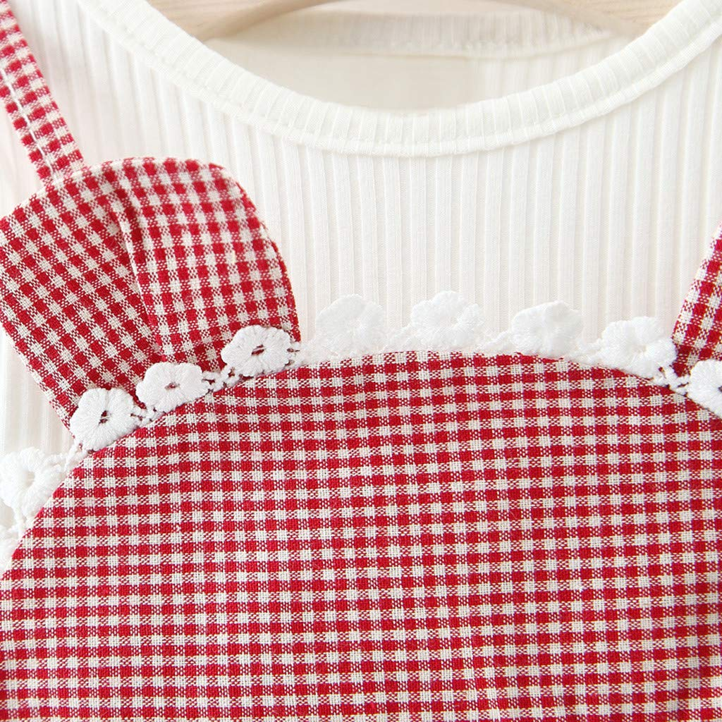 Amazon.com: Kasien Toddler Baby Girls Dress, Toddler Kids Baby Girls Long Sleeve Ears Plaid Clothes Party Princess Dress: Clothing