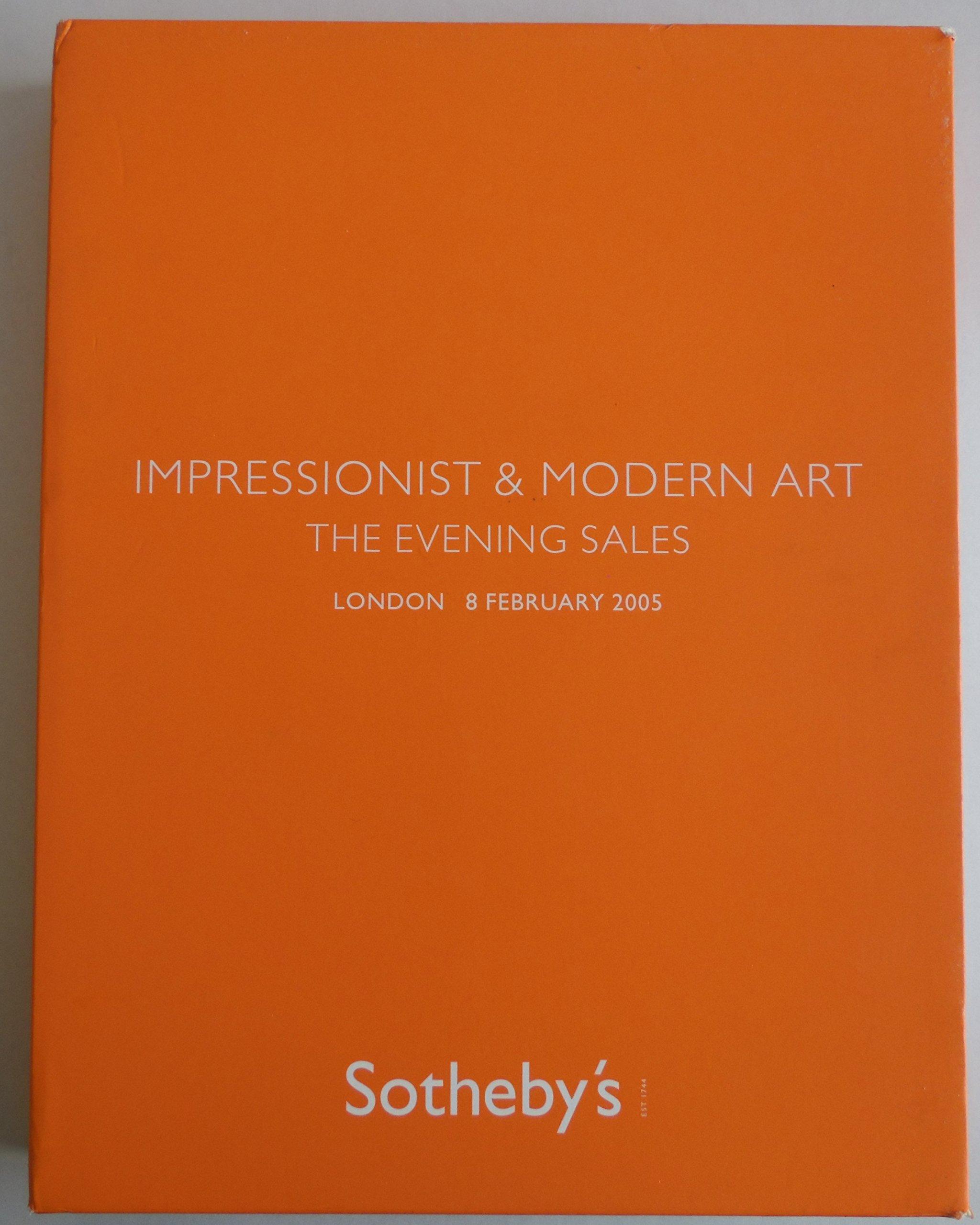Download Impressionist & Modern Art : The Evening Sale - Surrealist Art, Impressionist & Modern Art Evening Sale, German & Austrian Art - Evening Sale - Sotheby's London - 8 February 2005 - PDF