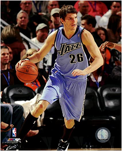 check out ff46b c12aa Amazon.com : Kyle Korver Utah Jazz Unsigned Licensed ...
