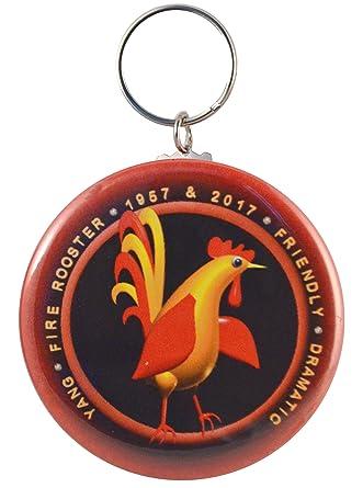 Amazon.com: Zodiac Fire Gallo Born 1957 2017 two-side Mylar ...