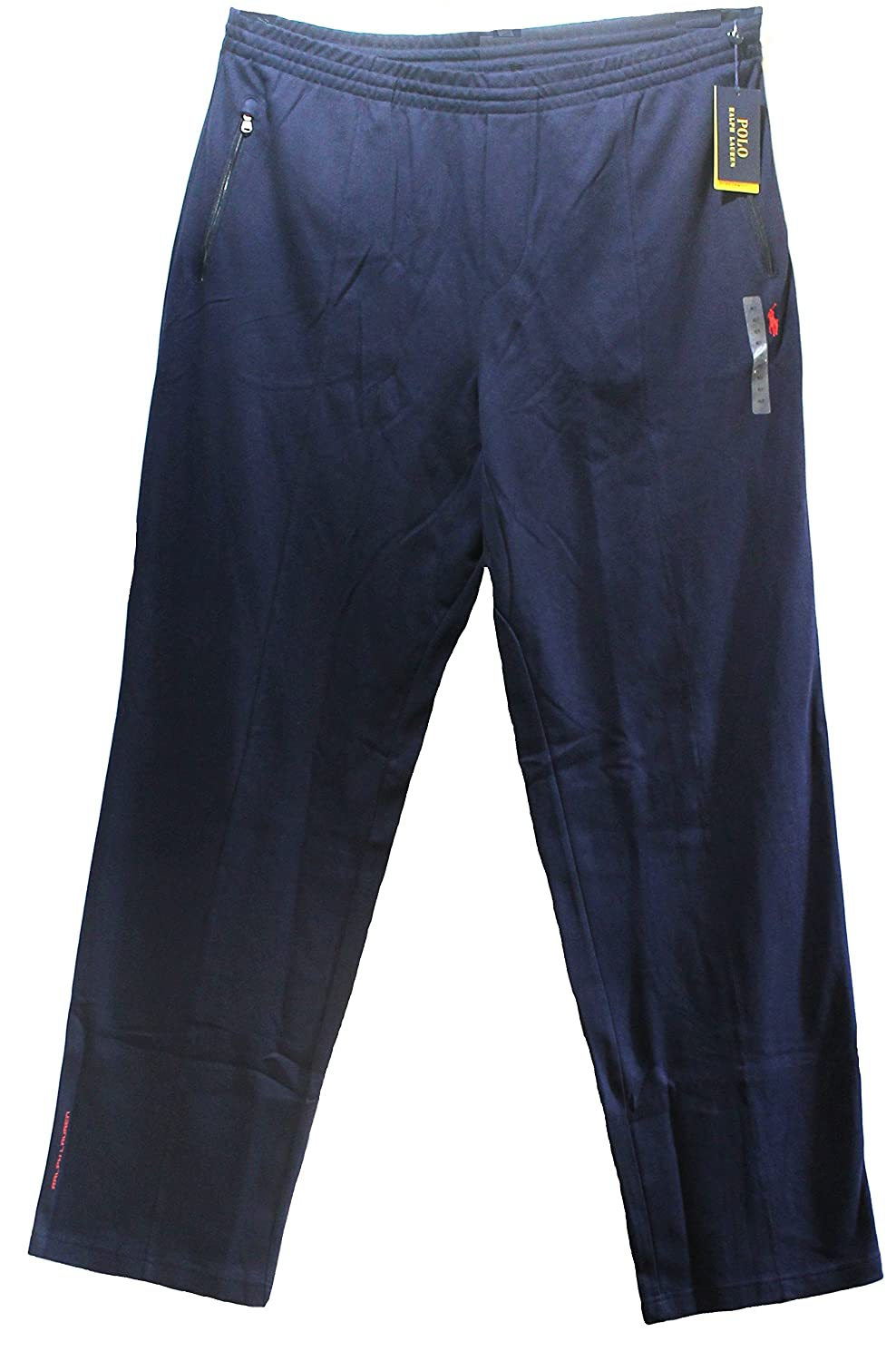 6ec47d321 Polo Ralph Lauren Men s Performance Athletic Track Pants Big and Tall  Little Pony French Navy (4LT) at Amazon Men s Clothing store