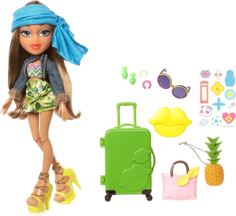"2015 Bratz 10/"" Doll Clothes Yasmin's Study Abroad Brazil Green Pineapple"