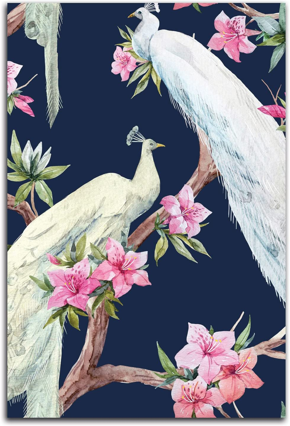 Gango Home Decor Vertical Paradis Birds II by Incado (Printed on Paper); One 12x18in Unframed Paper Poster