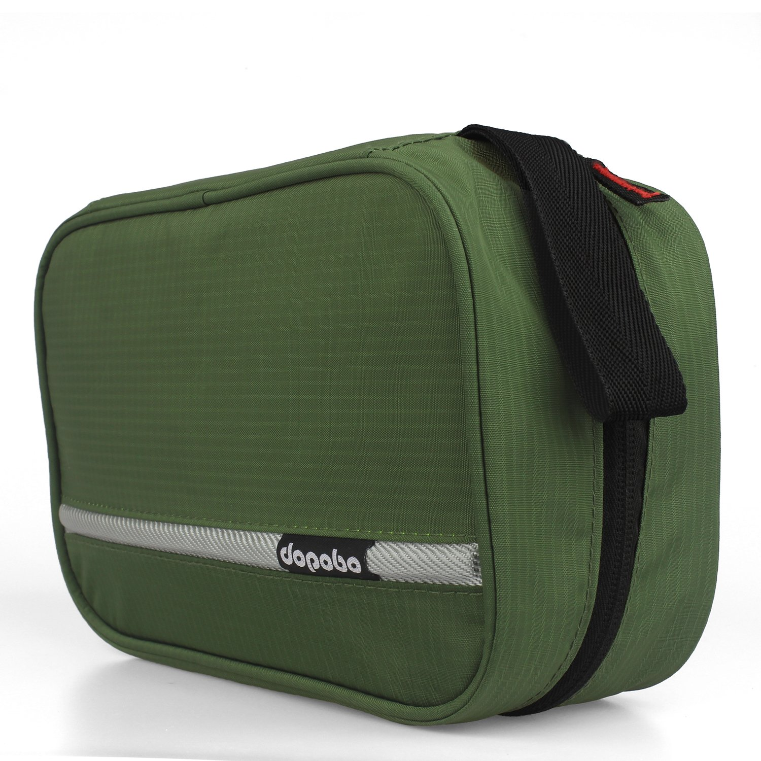 Dopobo Travelling Toiletry Bag Portable Hanging Water-Resistant Wash Bag for Travelling, Business Trip, Camping (army green) by Dopobo (Image #3)