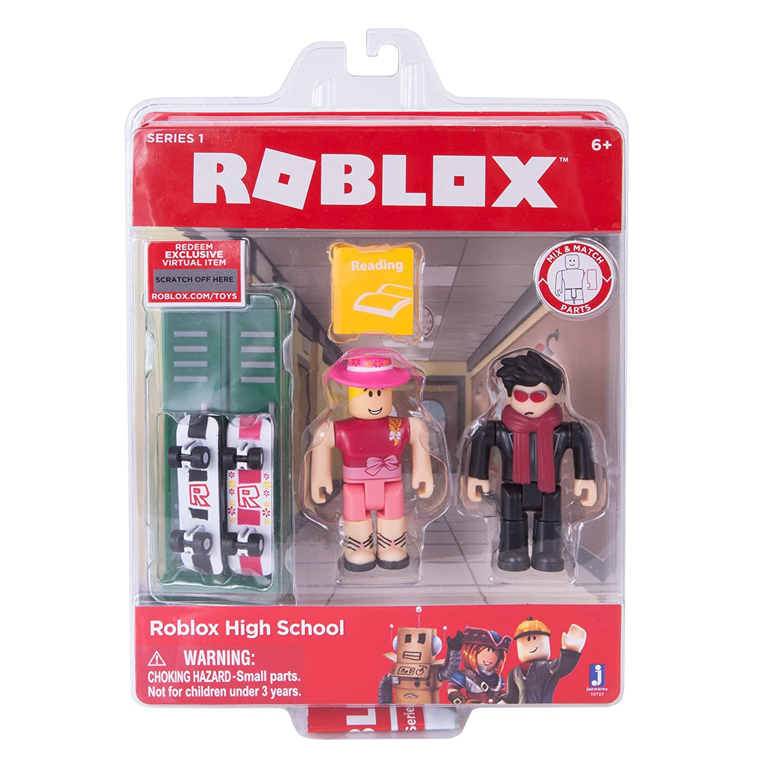 Amazon Com Roblox Work At A Pizza Place Game Pack Toys Games