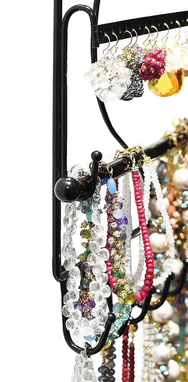 Buy Wall Mount Heart Shape Jewelry Organizer Hanging Earring Holder