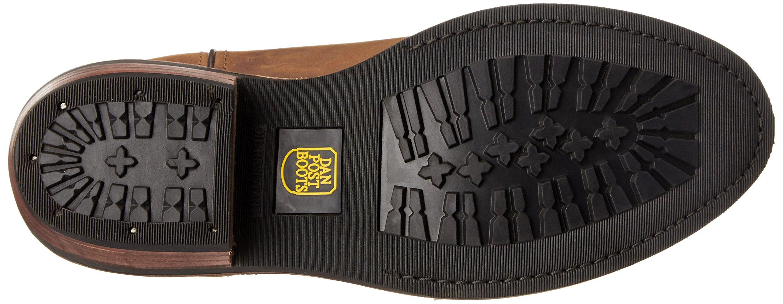 Dan Post Men's Albuquerque Waterproof Boot,Mid Brown Oily,11  EW US by Dan Post Boot Company (Image #3)