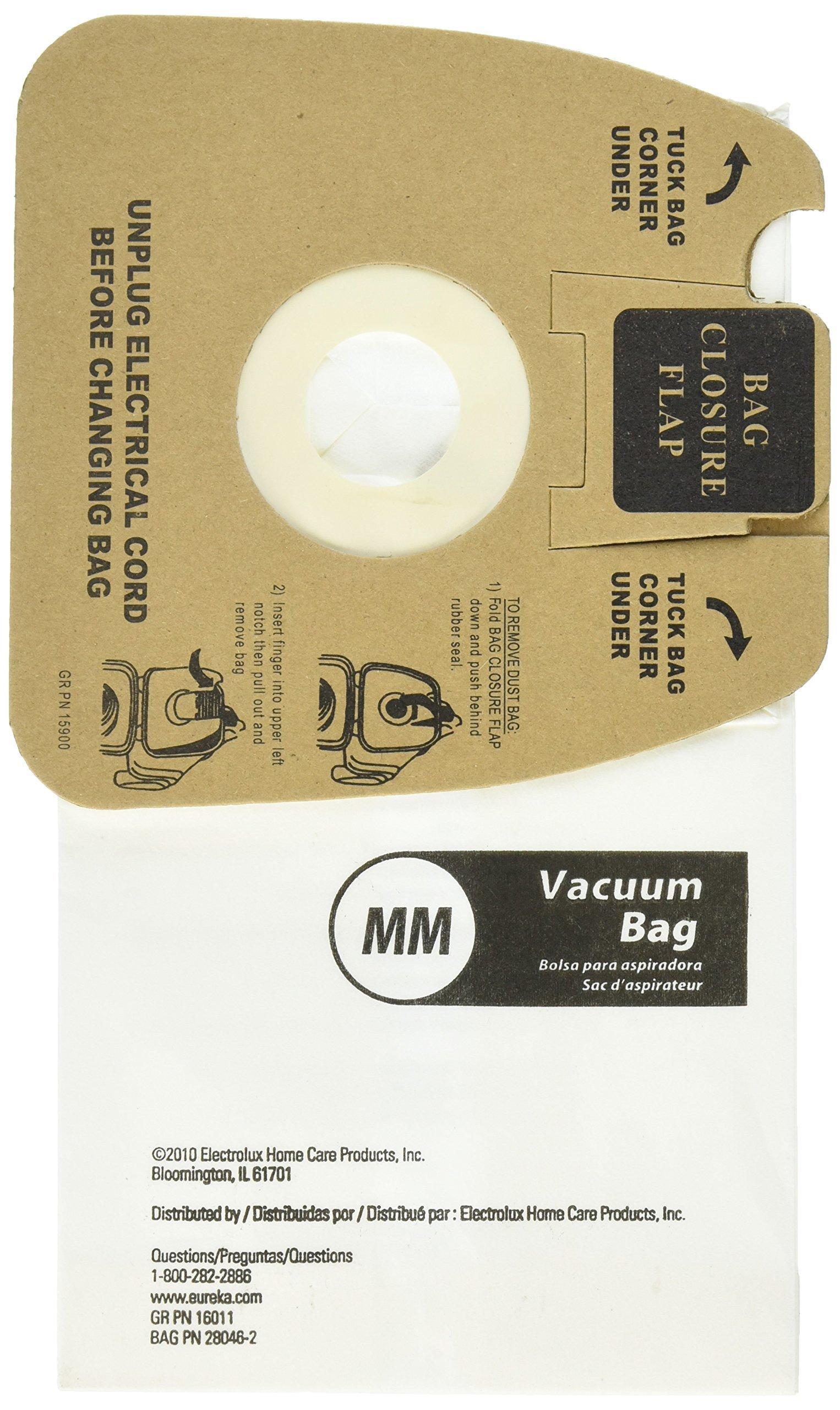 Genuine Eureka MM Vacuum Bag 60297A Style -(2 packs of 10 = 20 Bags) by Eureka