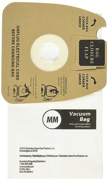 Amazon.com: Genuine Eureka MM Vacuum Bag 60297A Style -(2 packs of 10=20 Bags): Home & Kitchen