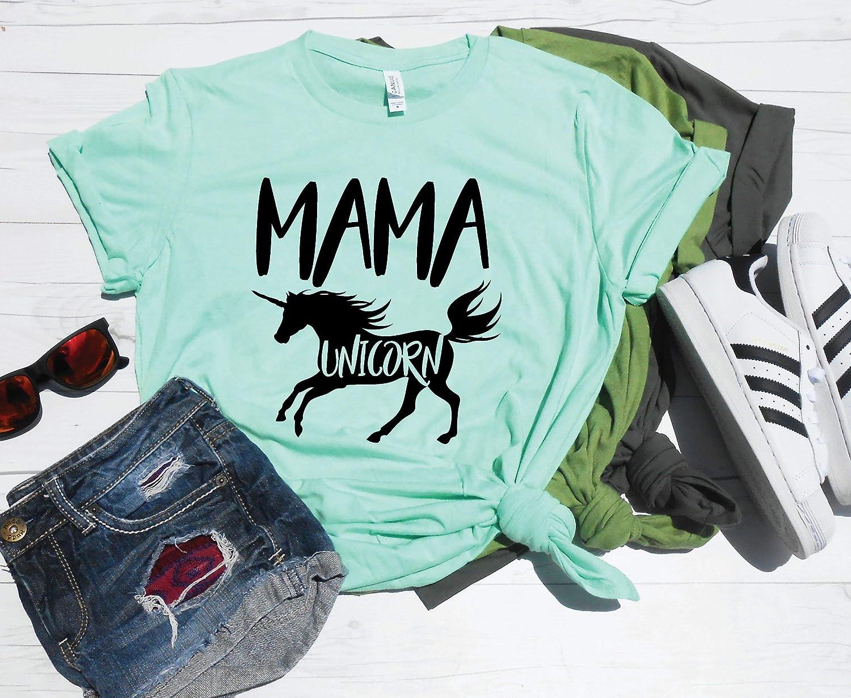 557eef5b ... Mama Unicorn Shirt, Mom Unicorn, Mom Unicorn T-Shirt, Mom Birthday Party  ...