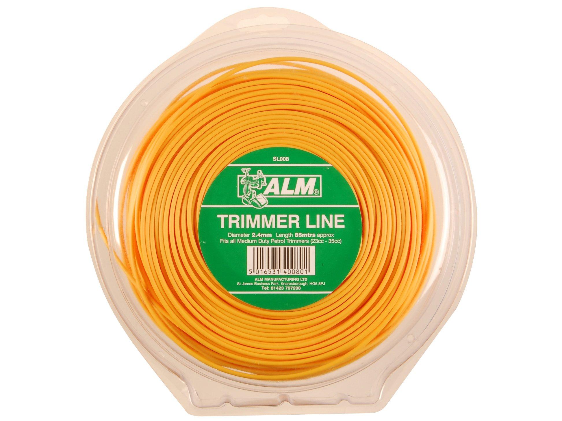 SL008 Medium-Duty Petrol Trimmer Line 2.4mm x 90m