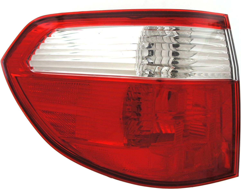 Genuine Honda Parts 33501-S2A-A11 Passenger Side Taillight Lens//Housing
