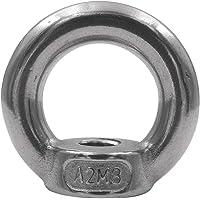 5 stuks ringmoeren DIN 582 roestvrij staal V2A oogmoer metrisch M6 M8 M10 M12 roestvrij A2 - oogmoer (M8)