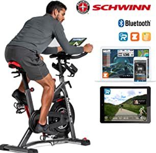 Schwinn IC8 mit Bluetooth Bicicleta Interior magnética, Ajuste de ...