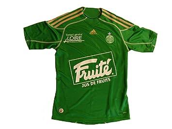 Adidas - Camiseta maillot de AS Saint Etienne para hombre, color verde verde Talla:small: Amazon.es: Deportes y aire libre
