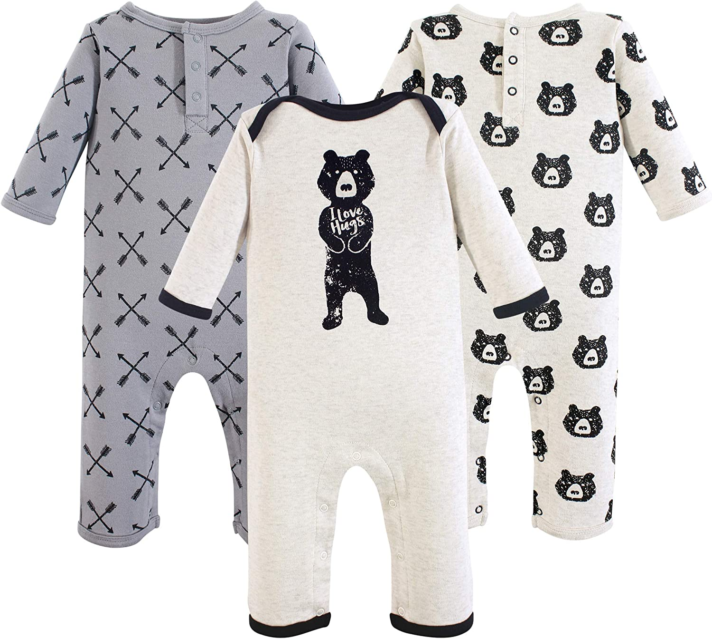 Unicorn Yoga Sprout Girl Toddler Fleece Jumpsuits 2pk