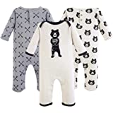 Yoga Sprout Baby Girls' Cotton Union Suit
