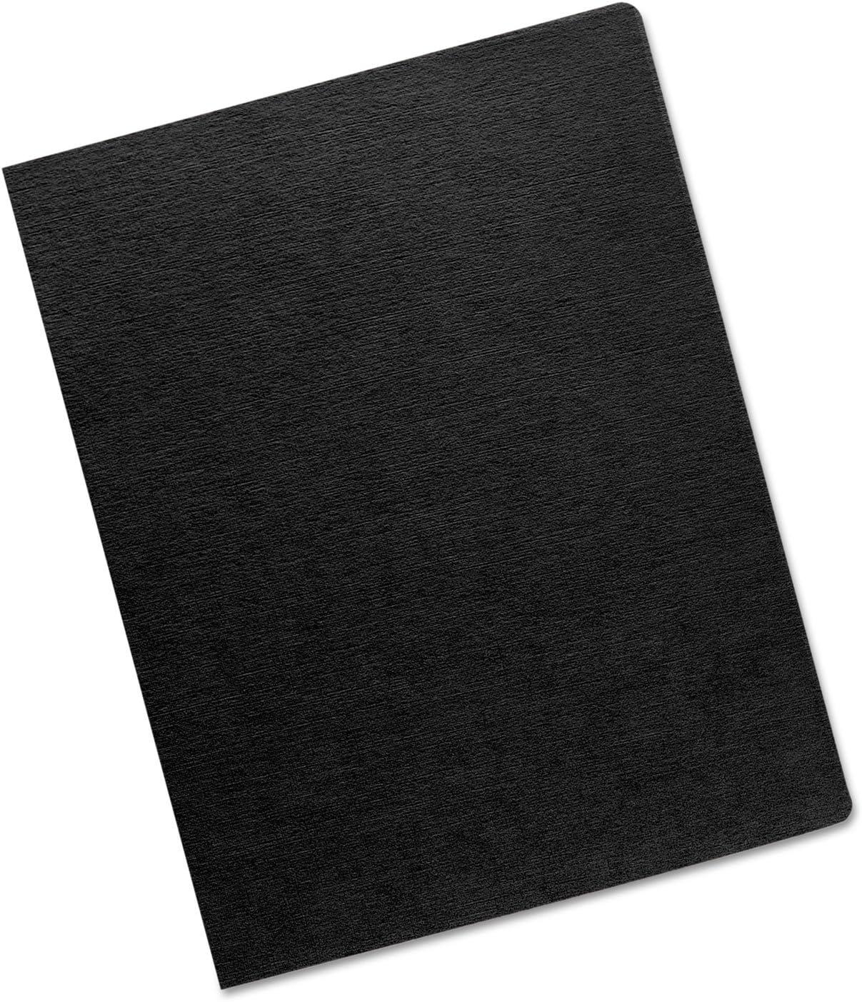 Fellowesリネンクラシックプレゼンテーションcover8.75amp ; quot ; x 11.25 Amp ; Quot ; – 200 /パック – ブラック