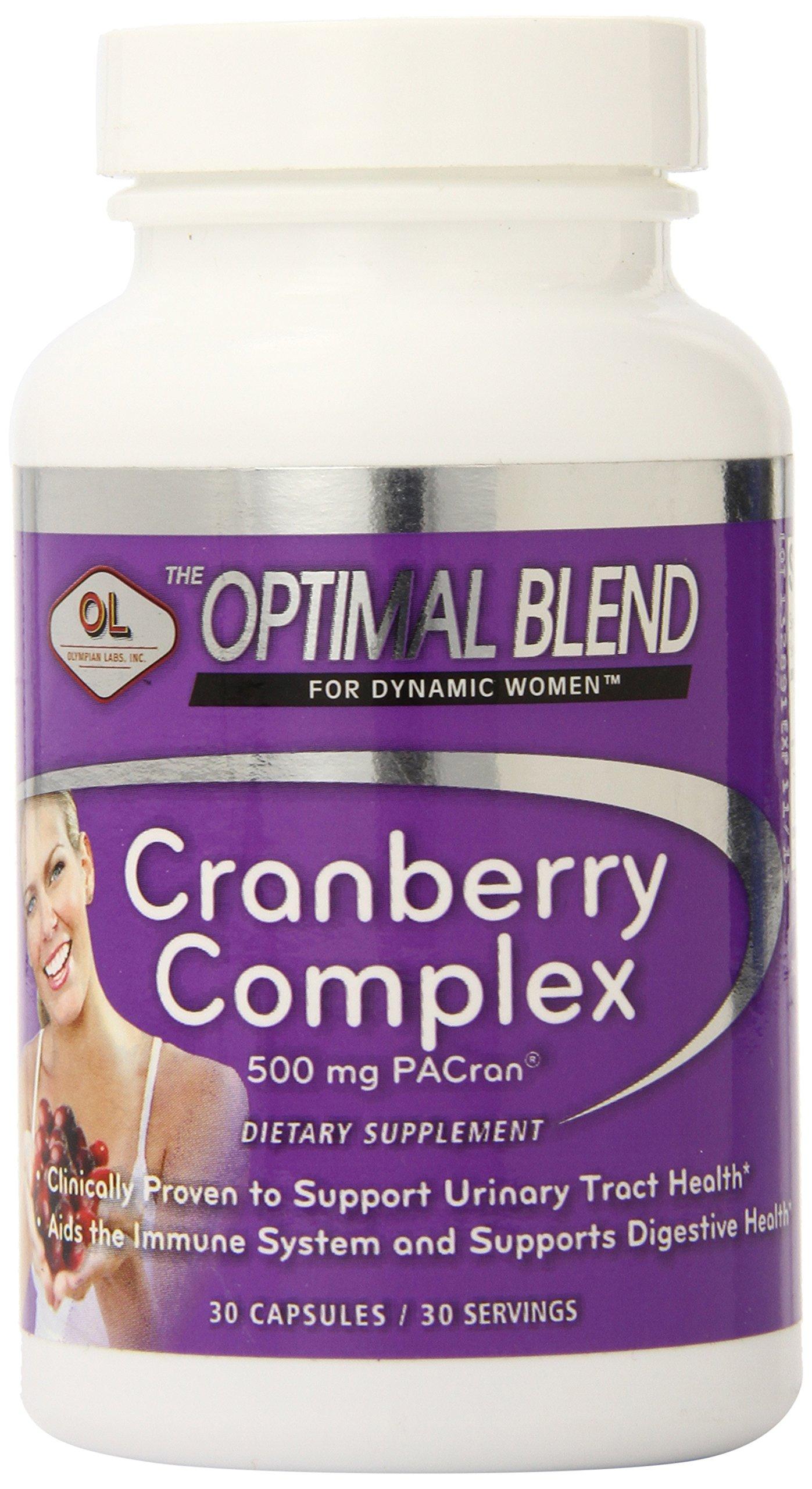 Optimal Blend Cranberry Complex Capsules, 30 Count