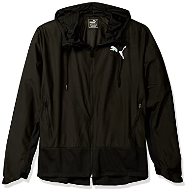 6dc01f58b0b4 PUMA Men s Energy Windbreaker Jacket at Amazon Men s Clothing store