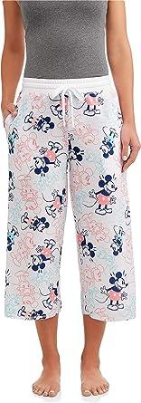 Disney Womens Mickey Mouse Vintage Style Night Sleep Lounge Pajama Pants
