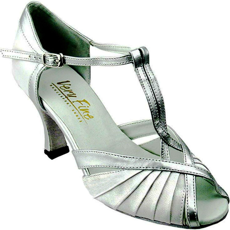 [Very Fine Dance Shoes] レディース B017REQKQE シルバー 8 B(M) US