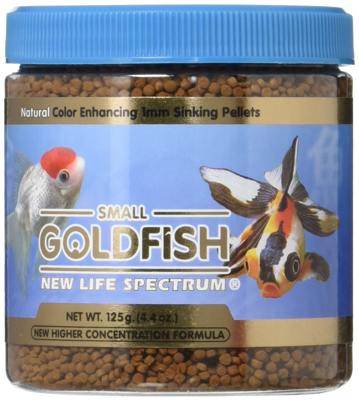 New Life Spectrum Sinking Food, 125g/1mm by New Life Spectrum B004QQ1C38