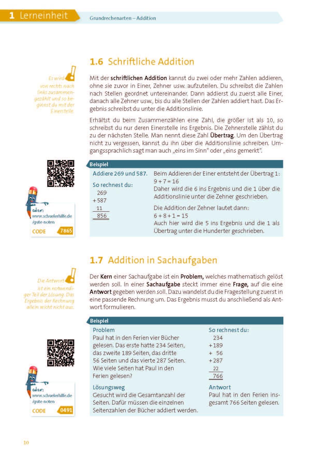 XXL-Lernbuch Mathe 4./5. Klasse: Gute Noten mit der Schülerhilfe ...