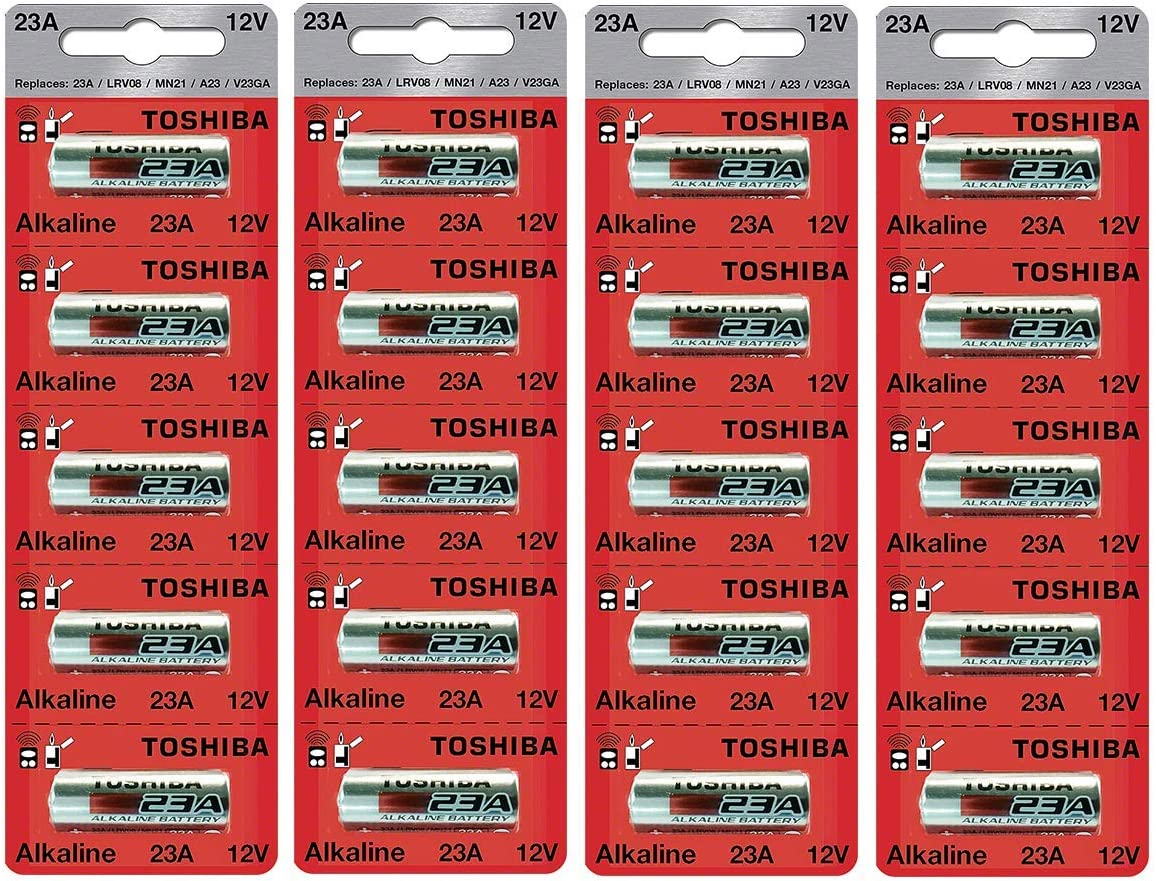 Toshiba A23S A23 GP23AE MN21 23GA 12 Volt Battery 20 Batteries