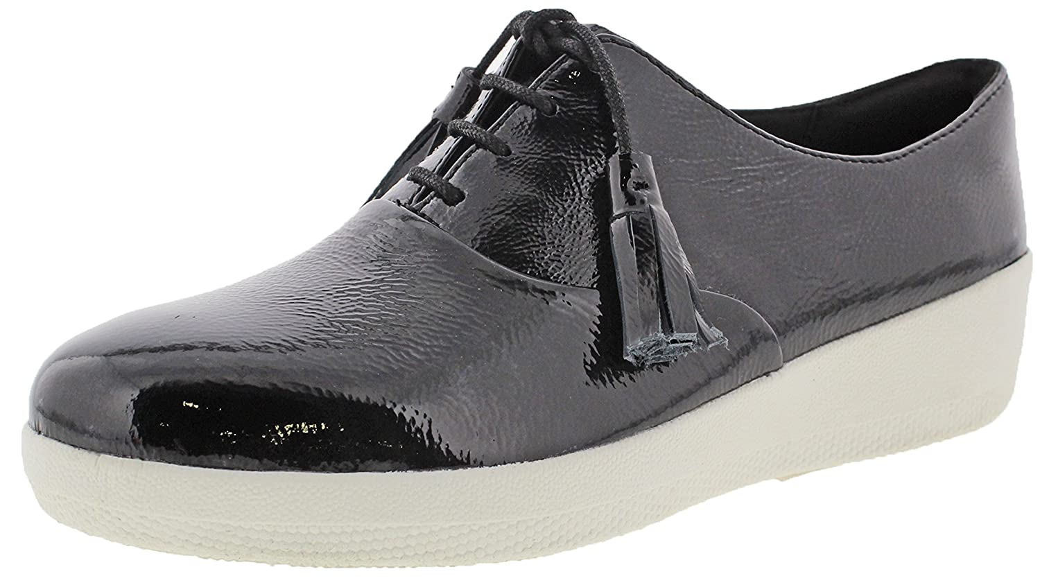 FitFlop All Classic Tassel Superoxford - All FitFlop schwarz Patent Leder - 326525