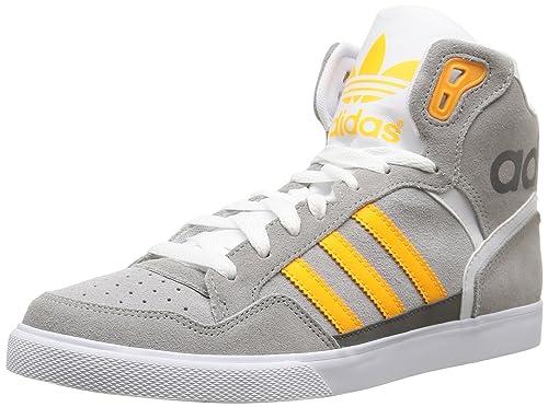 hot sale online 8092d a99ce adidas Extaball W - Zapatillas para Mujer, Color GrisAmarilloBlanco,  Talla 36 Amazon.es Zapatos y complementos