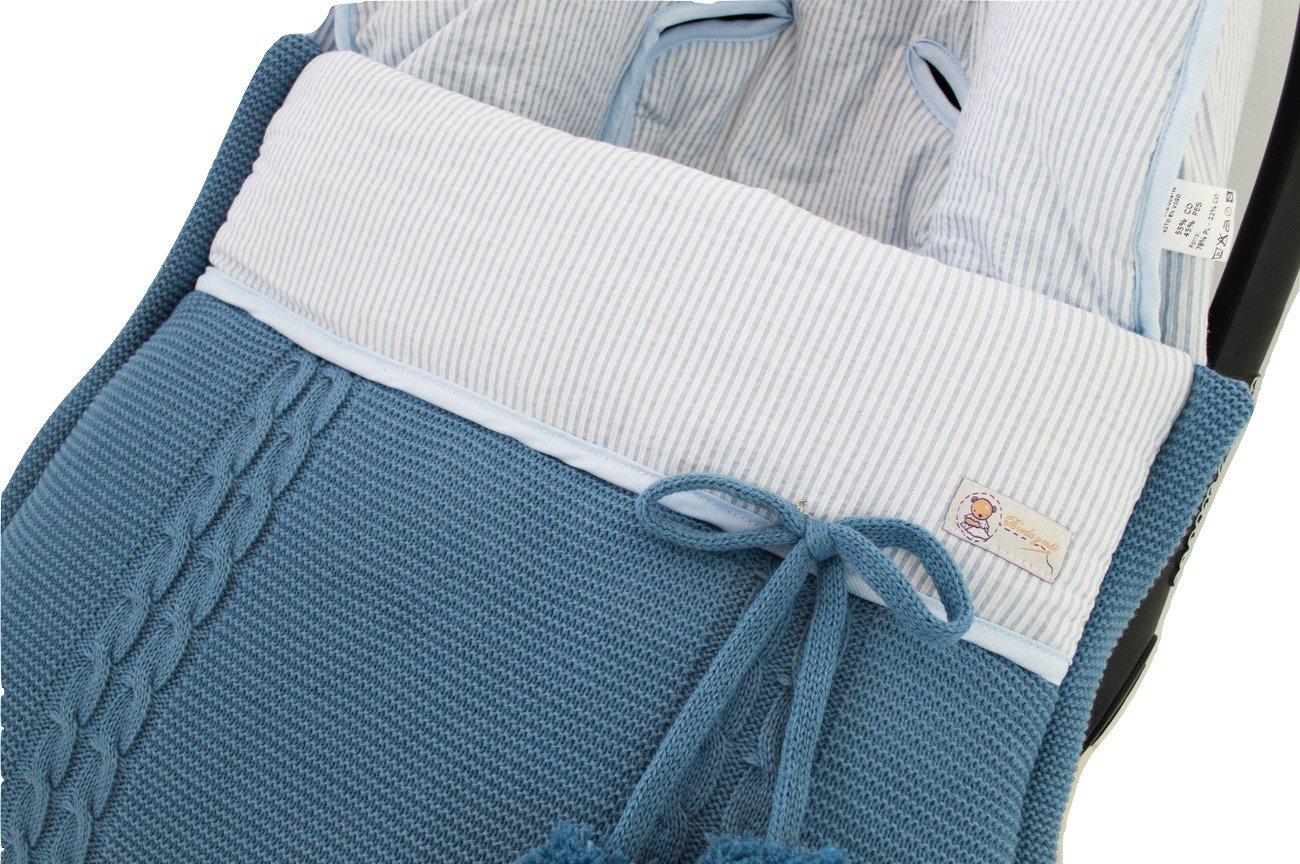 Saco funda de invierno ESPECÍFICO para MATRIX de JANE. Varios modelos disponibles (Barquitos azul)