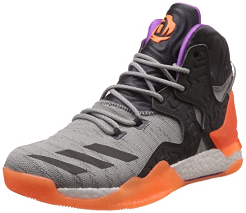 07a66916ceb2 Adidas D Rose 7 Primeknit Mens Basketball Sneakers Shoes-Grey-6.5 ...