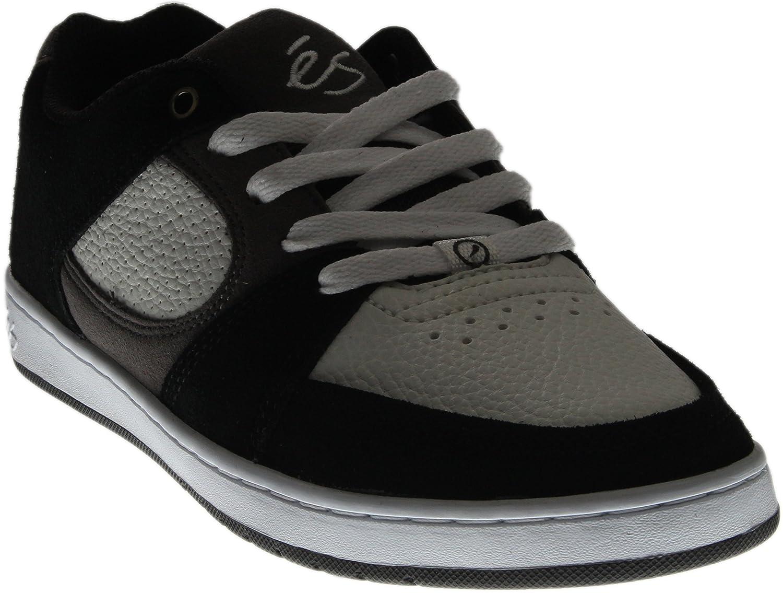 eS Skateboard Shoes Accel Slim Black/White/Grey 11.5 D(M) US Black/White/Grey
