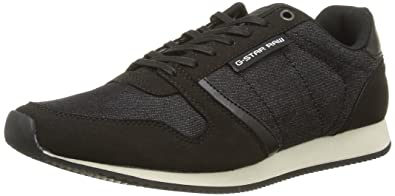 G-Star Herren Grount Sneakers, Schwarz (Black 990), 41 EU G-Star