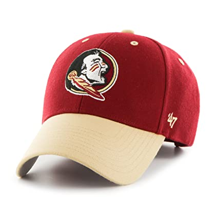 finest selection 671a0 b843a  47 NCAA Florida State Seminoles Audible Two Tone MVP Hat, One Size,  Cardinal