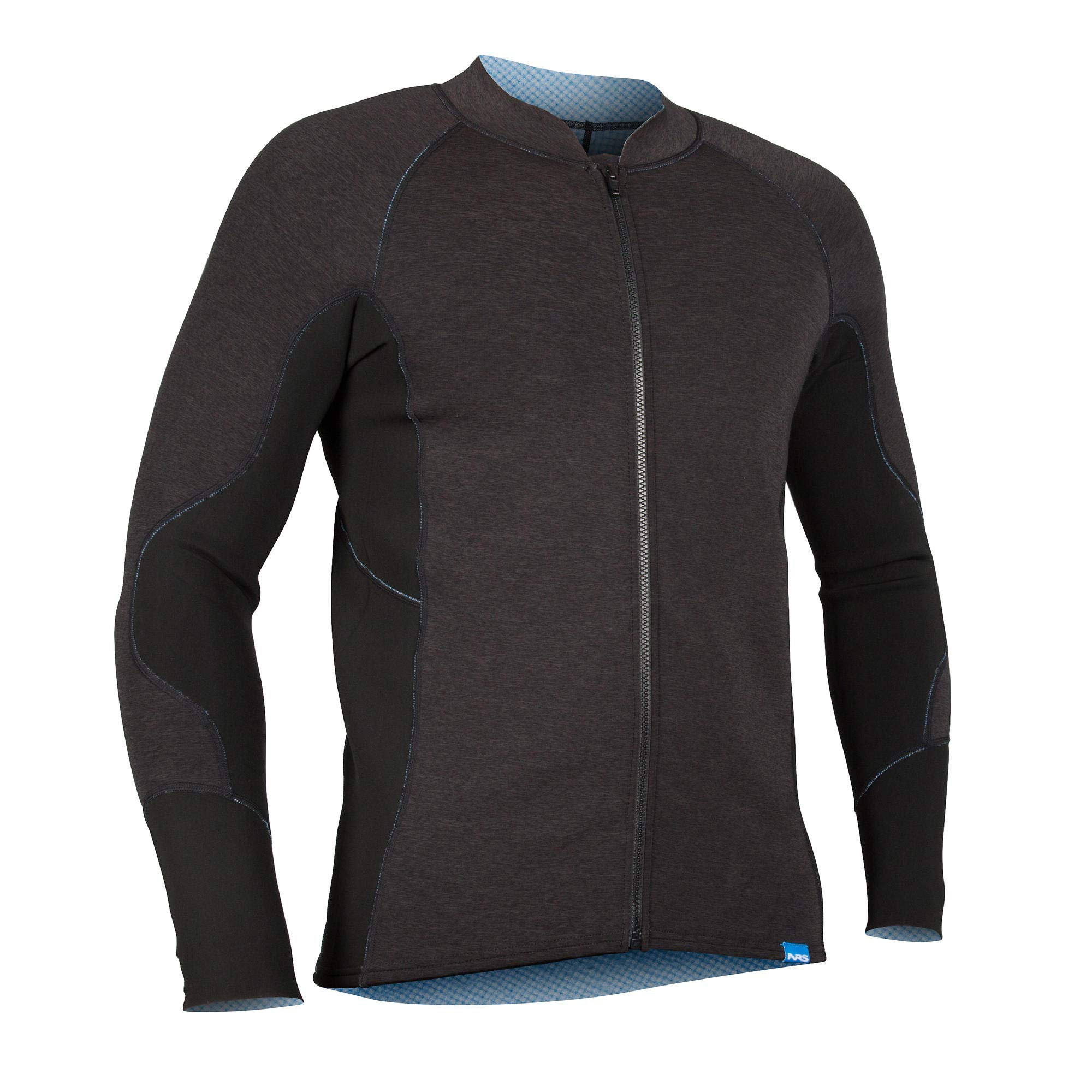NRS HydroSkin 1.5 Jacket - Men's Charcoal Heather Small