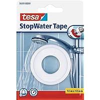 tesa UK 56220-0000-00 taśma uszczelniająca PTFE taśma naprawcza, 12 m x 12 mm - biała