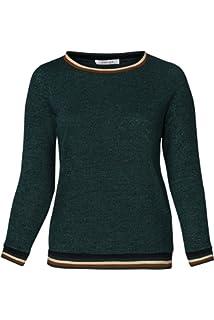 32439127d260 PAPRIKA Damen große Größen Pullover mit Ärmeln mit Rüschen und ...