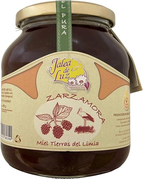 Jalea de Luz Miel Cruda Pura de Zarzamora - 950 gr.: Amazon.es ...