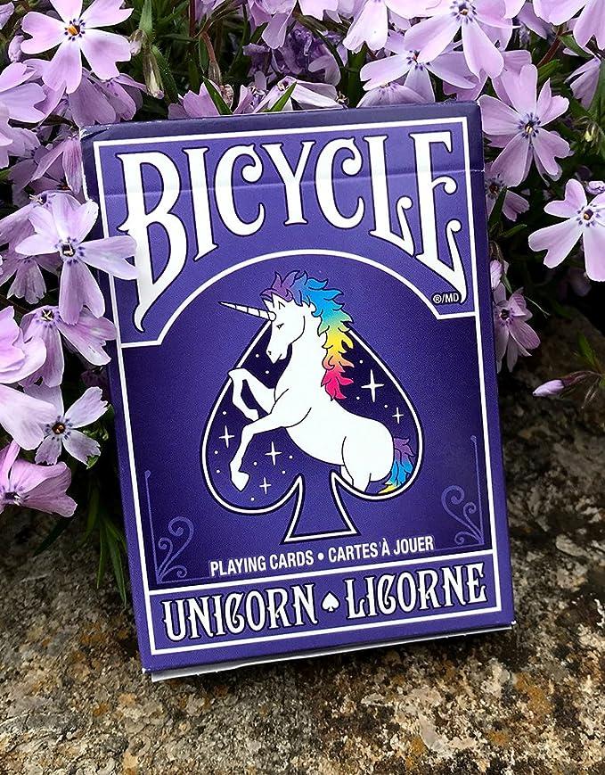 Kết quả hình ảnh cho UNICORN LICORNE PLAYING CARDS