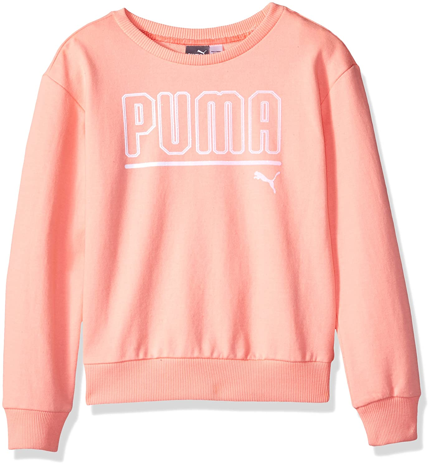 PUMA Girls' My Crew Sweatshirt
