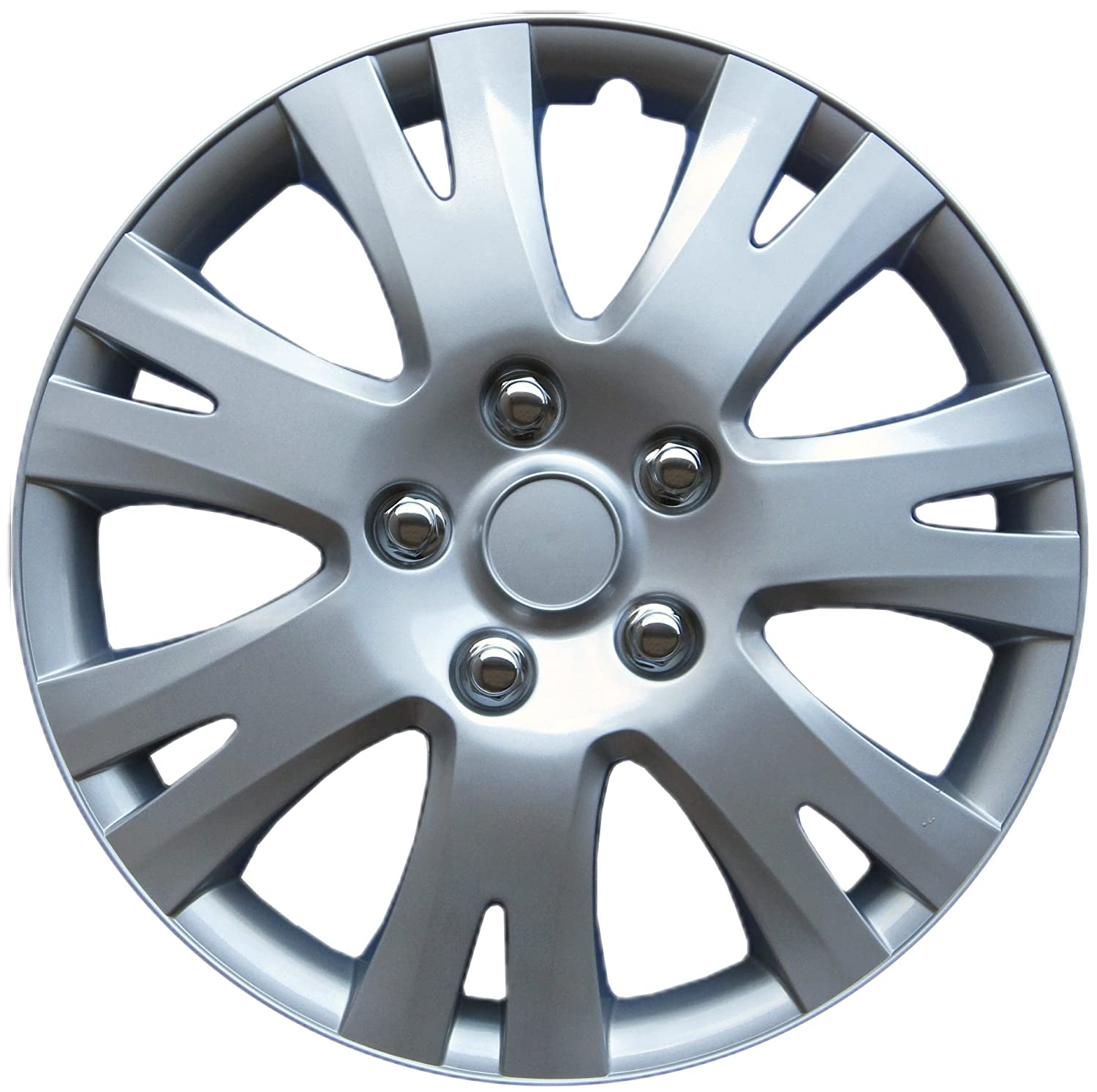 Drive Accessories 1032 Silver 16' ABS Plastic Aftermarket Wheel Cover