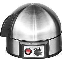 Clatronic 263 118 EK 3321 Eierkocher mit Härtegradeinstellung (7 Eier) 400 Watt inox