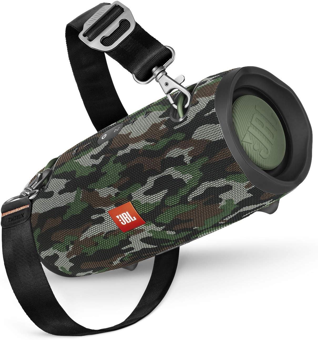 Jbl Xtreme 2 Musikbox In Camouflage Wasserdichter Portabler Stereo Bluetooth Speaker Mit Integrierter Powerbank Mit Nur Einer Akku Ladung Bis Zu 15 Stunden Musikgenuss Audio Hifi