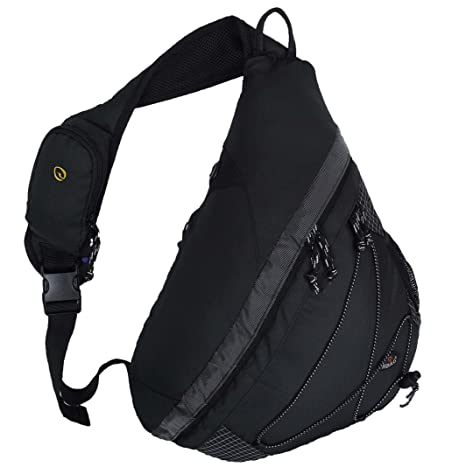 "b3a1459efe Amazon.com  20"" HBAG Sling Backpack Single Strap Shoulder Bag"