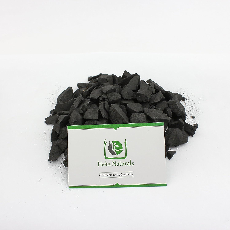 Rusia 500 g Piedras Shungita para la Purificaci/ón del Agua 500g de Piedras Color Negro Mate para Limpieza y Filtrado de Agua I Aut/éntica Shungit de Karelia