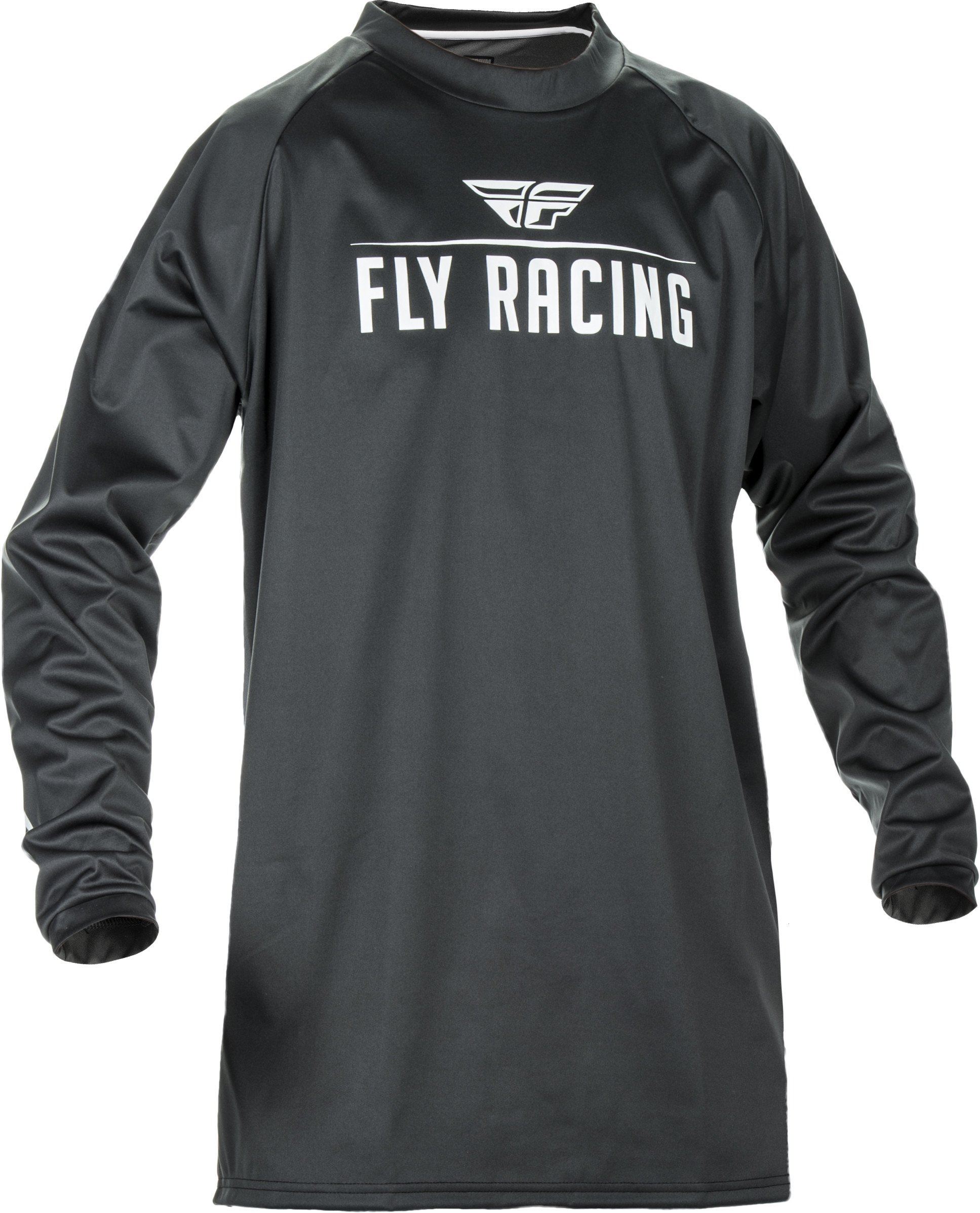 Black/Grey Sz XXL Fly Racing Windproof Motocross Jersey by Fly Racing (Image #1)