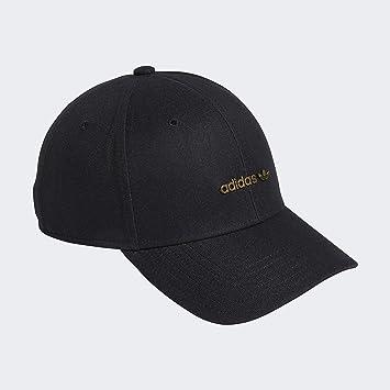adidas Originals Originals Metal Forum Logo Cap, Black, One Size ...